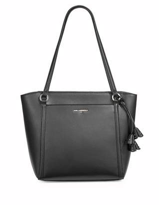 Karl Lagerfeld Paris Iris Top Zip Leather Tote