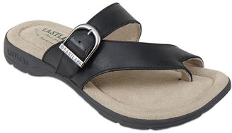 Eastland Leather Strap & Buckle Thong Sandals - Tahiti II