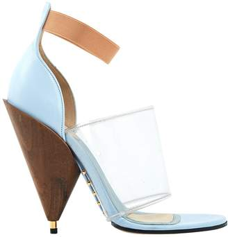Givenchy Blue Leather Sandals