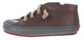 Camper Boys' Leather Round-Toe Sneakers