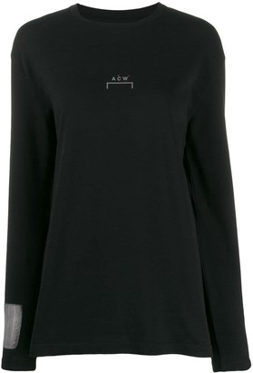 A-Cold-Wall* printed logo sweatshirt