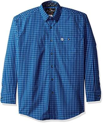 Wrangler Men's George Strait Long Sleeve One Pocket Woven Shirt