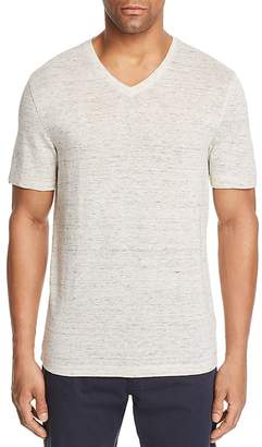 Michael Kors Space-Dyed V-Neck Tee