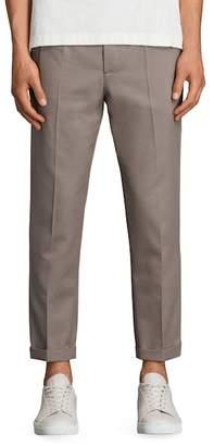 AllSaints Tallis Pleated Cotton & Wool Trousers