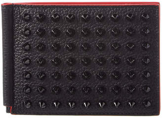 Christian Louboutin Clipsos Leather Bifold Wallet