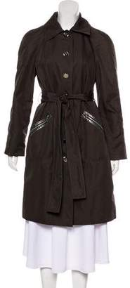 Tory Burch Collared Knee-Length Coat