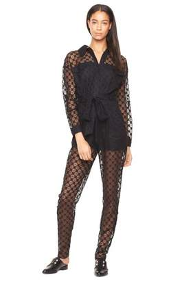 Milly Exclusive Lace Mechanic Jumpsuit