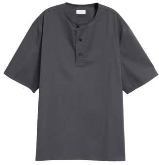 Lemaire Asymmetrical Henley T-Shirt