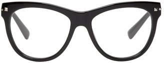Valentino Black Sartorial Rockstud Glasses