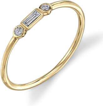 Sydney Evan Round And Bezel Ring