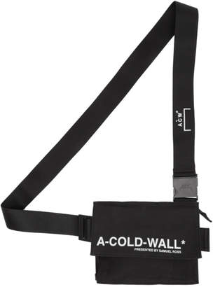 A-Cold-Wall* Black Utility Pouch