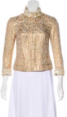 Dolce & Gabbana Brocade Embellished Jacket