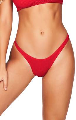 Bond Eye BOUND BY BOND-EYE The Scene High-Cut Bikini Bottoms