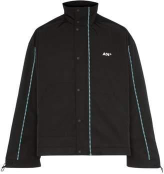 Ader Error contrast trim high-neck boxy fit jacket