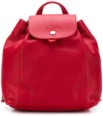 Longchamp snap button fastening backpack