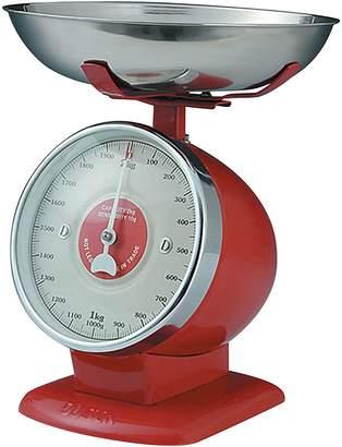 Dulton Streamline Kitchen Scales, MS Dark Red