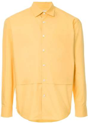 Cerruti layer detail shirt