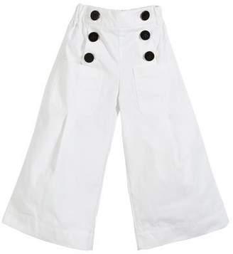 Burberry Taren Wide Legs Sailor Pants, Size 3-14