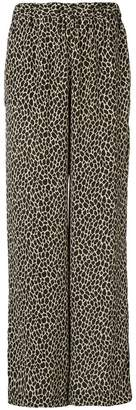 MICHAEL Michael Kors giraffe print wide leg trousers