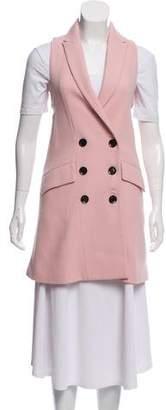 Marissa Webb Virgin Wool Double-Breasted Vest w/ Tags