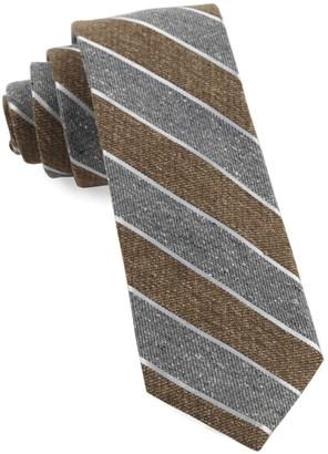 The Tie Bar Splattered Repp Stripe