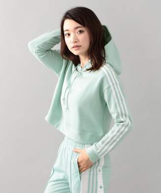 GUILD PRIME (ギルド プライム) - GUILD PRIME 【adidas】WOMENS パーカー-CROPPED HOODIE CY4769-