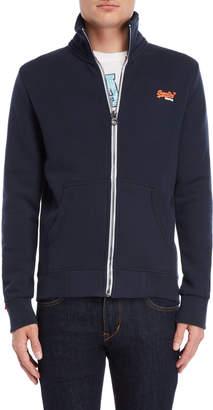 Superdry Orange Label Zip-Up Track Sweatshirt
