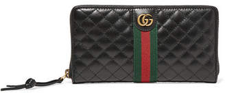 Gucci Quilted Leather Wallet - Black