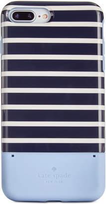 Kate Spade Striped Credit Card iPhone 8 Plus Case
