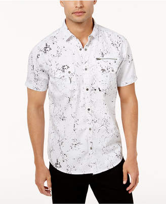 INC International Concepts I.n.c. Men's Splatter Shirt
