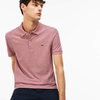 Lacoste Men's Regular Fit Mini Pique Polo