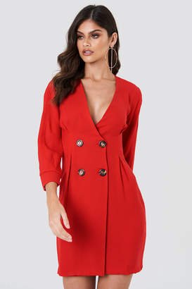 Trendyol Buttoned Blazer Dress