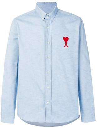 Ami Alexandre Mattiussi Ami De Coeur Patch Button-Down Shirt