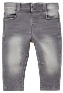 Washed Stretch Skinny Jeans