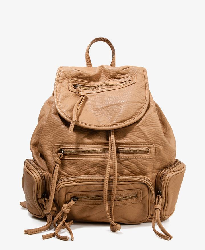 Forever 21 Distressed Backpack