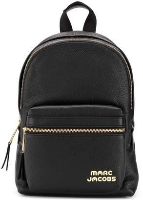 Marc Jacobs logo zipped backpack