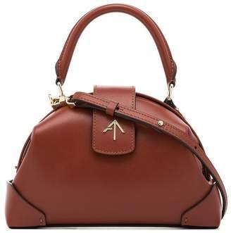 Atelier Manu Red Demi Leather Crossbody Bag
