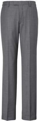 Banana Republic Standard Italian Wool Sharkskin Suit Trouser
