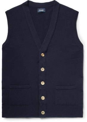 Drakes Drake's Slim-Fit Wool Sweater Vest