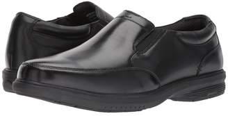 Nunn Bush Myles Street Moc Toe Slip-On with KORE Slip Resistant Walking Comfort Technology Men's Slip-on Dress Shoes