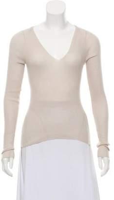 Gucci Cashmere Rib-Knit Sweater