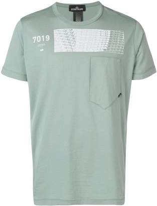 Stone Island Shadow Project patch print T-shirt
