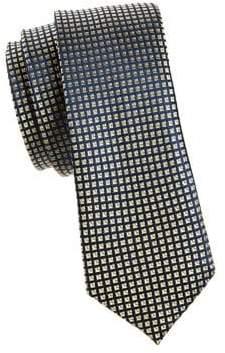 Lauren Ralph Lauren Boy's Mini Squares Silk Tie