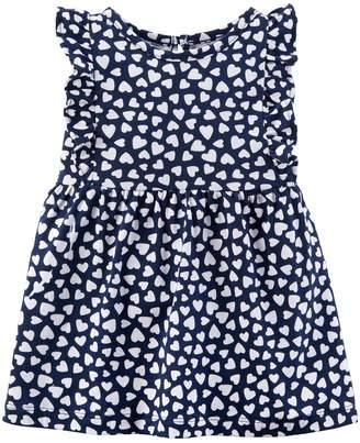 Carter's Baby Girl Heart Print Dress