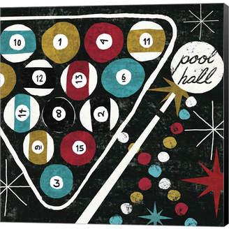 Pool' Metaverse Vegas Pool Hall By Michael Mullan Canvas Art