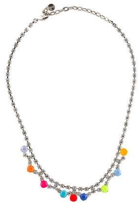 Tom Binns Neon Crystal Collar Necklace