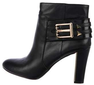 Louise et Cie Leather Round-Toe Ankle Boots