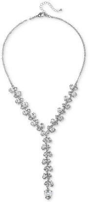 """Badgley Mischka Crystal Lariat Necklace, 18"""" + 3"""" extender"""