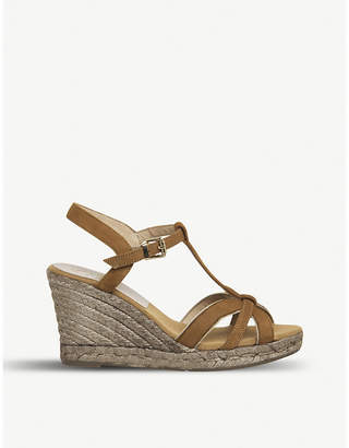 Office Evita suede wedge sandals