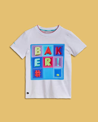 Ted Baker WENDDIE Box square cotton T-shirt